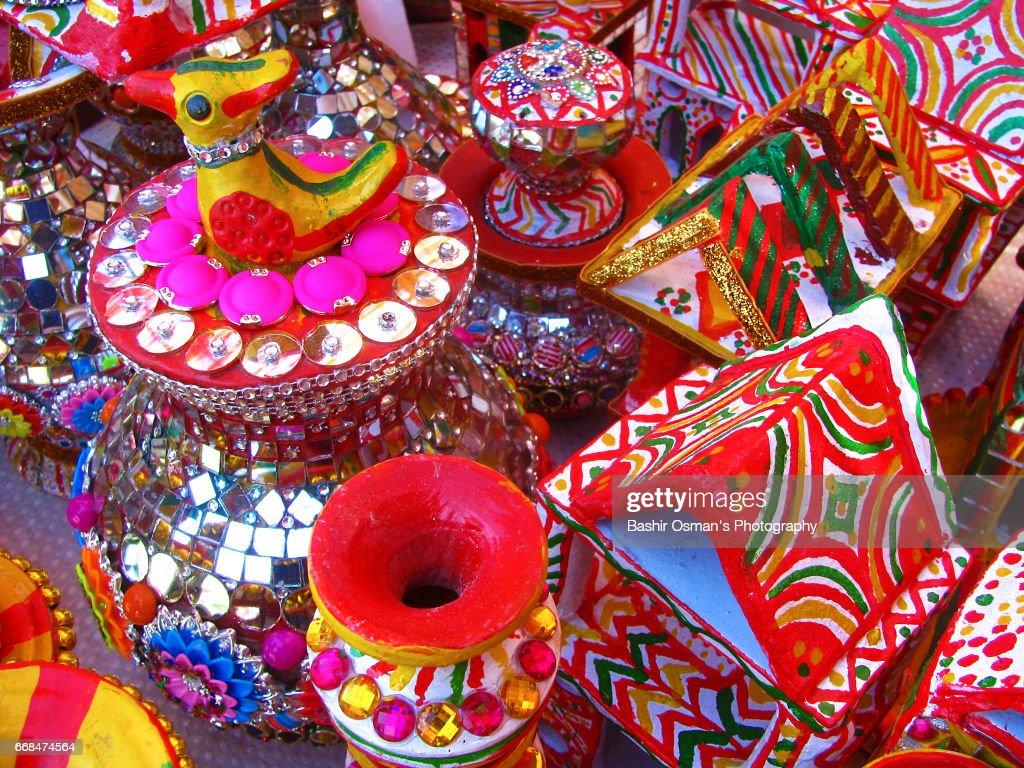 Handicrafts Of Pakistan Stock Photo Getty Images