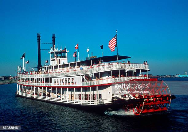 THE PADDLE WHEEL BOAT...