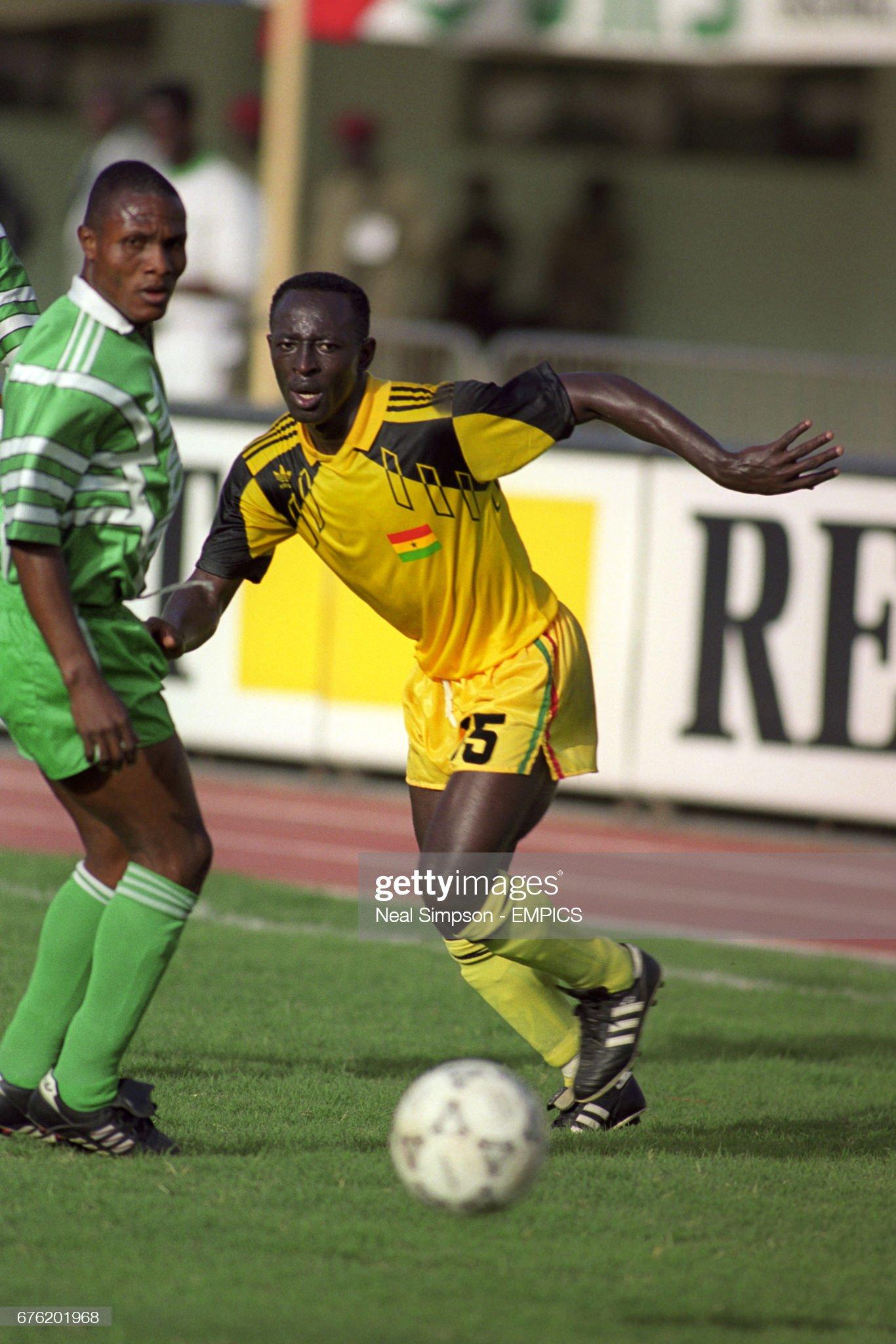 Soccer - African Nations Cup - Semi Final - Ghana v Nigeria - Dakar : News Photo