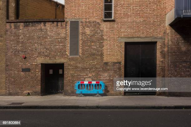 london brickwall - alley stock photos and pictures