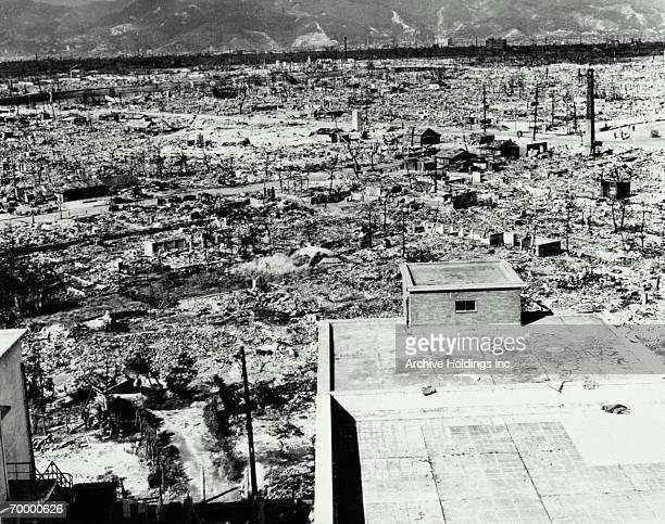 hiroshima after bomb - 太平洋戦争 ストックフォトと画像
