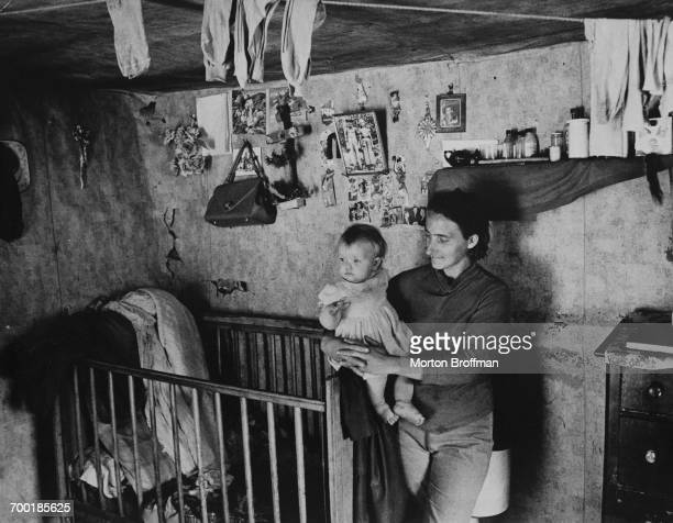 Mother and child Appalachia Poverty Series Kentucky 1969