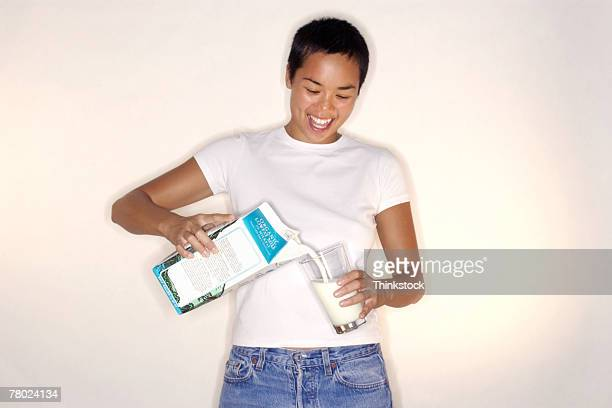 thc0020970 - milk carton stock photos and pictures