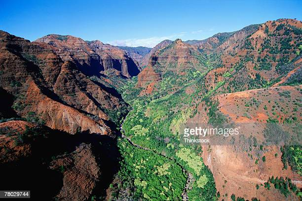 thc0022355 - waimea canyon stock pictures, royalty-free photos & images