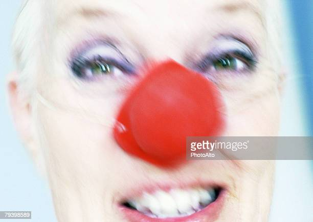 paa143000083 - clown's nose stock photos and pictures