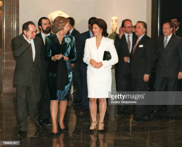 ESPAGNE AND SYLVIA DE SUEDE AT THE PRADO