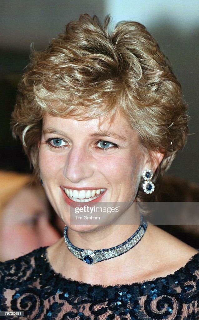 PRINCESS OF WALES IN CARDIFF, WALES : News Photo