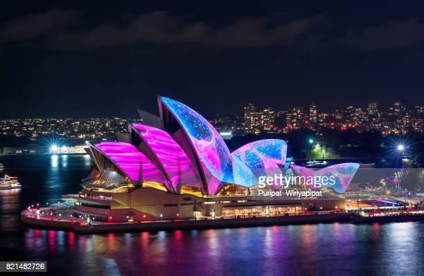 AUSTRALIA-ART-LIGHT-ON - OPERA HOUSE- FESTIVAL