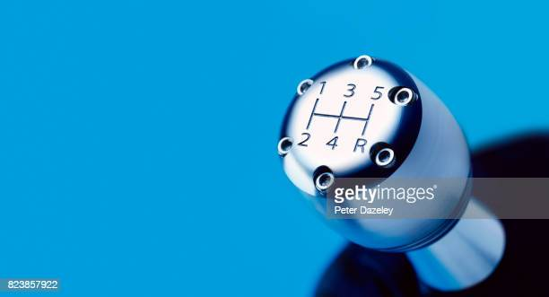gear shift with copy space - gearshift stock photos and pictures