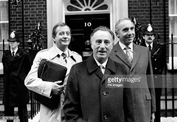 S `YES MINISTER' OUTSIDE DOWNING STREET