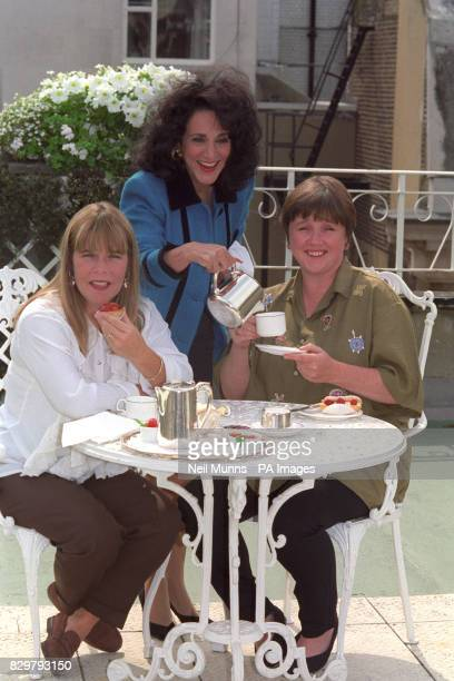 S FAVOURITE ESSEX GIRLS TRACEY LINDA ROBSON DORIEN LESLEY JOSEPH AND SHARON PAULINE QUIRKE SPREAD THEIR WINGS IN A NEW SERIES OF BIRDS OF A FEATHER...
