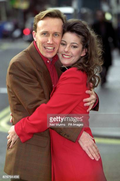 MUSICAL CRAZY FOR YOU WITH HER LEADING MAN KIRBY WARD IN LONDON THE SHOW WHICH OPENS IN MARCH FEATURES MUSIC LYRICS BY GEORGE IRA GERSHWIN