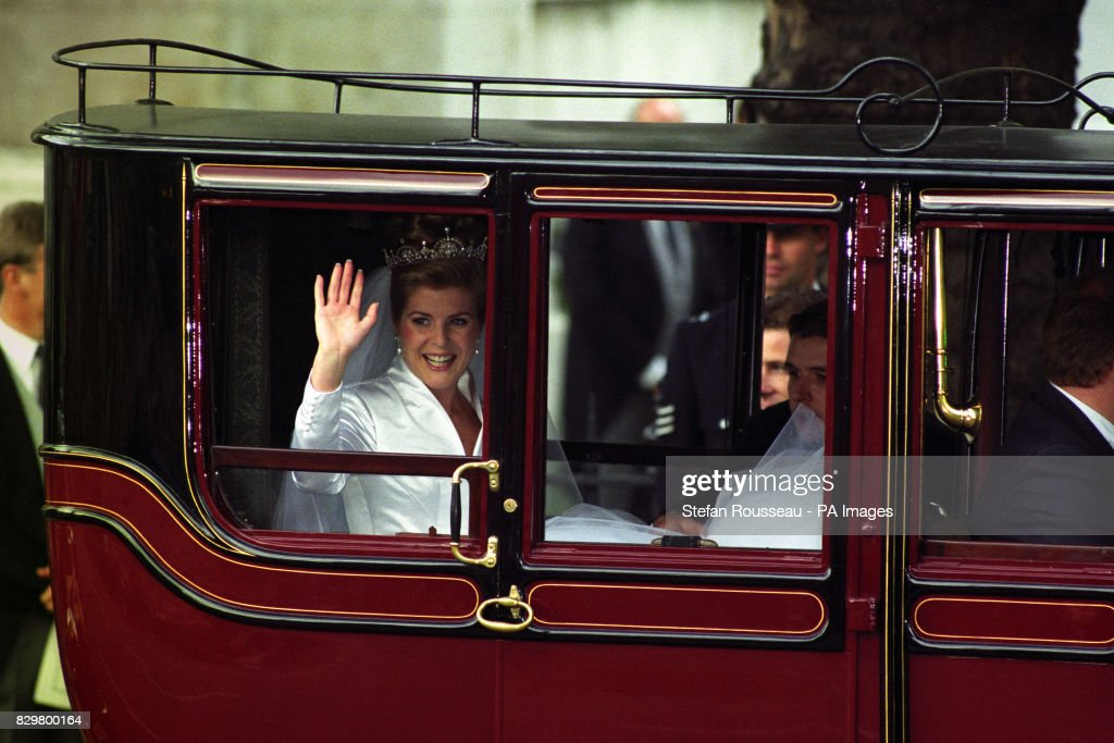 Royalty - Viscount Linley and The Hon. Serena Stanhope Wedding - London : News Photo