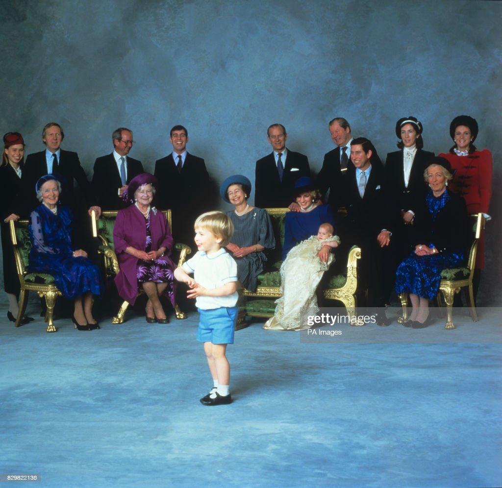 PRINCE HARRY CHRISTENING : News Photo