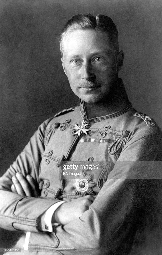 World War One - CROWN PRINCE WILHELM : 1920 : News Photo