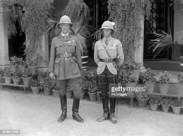 WALES' TOUR OF JAPAN AND THE EAST THE PRINCE AND LORD RAWLINSON THE COMMANDERINCHIEF OF THE FORCES IN INDIA RAWALPINDI 10TH MARCH 1922