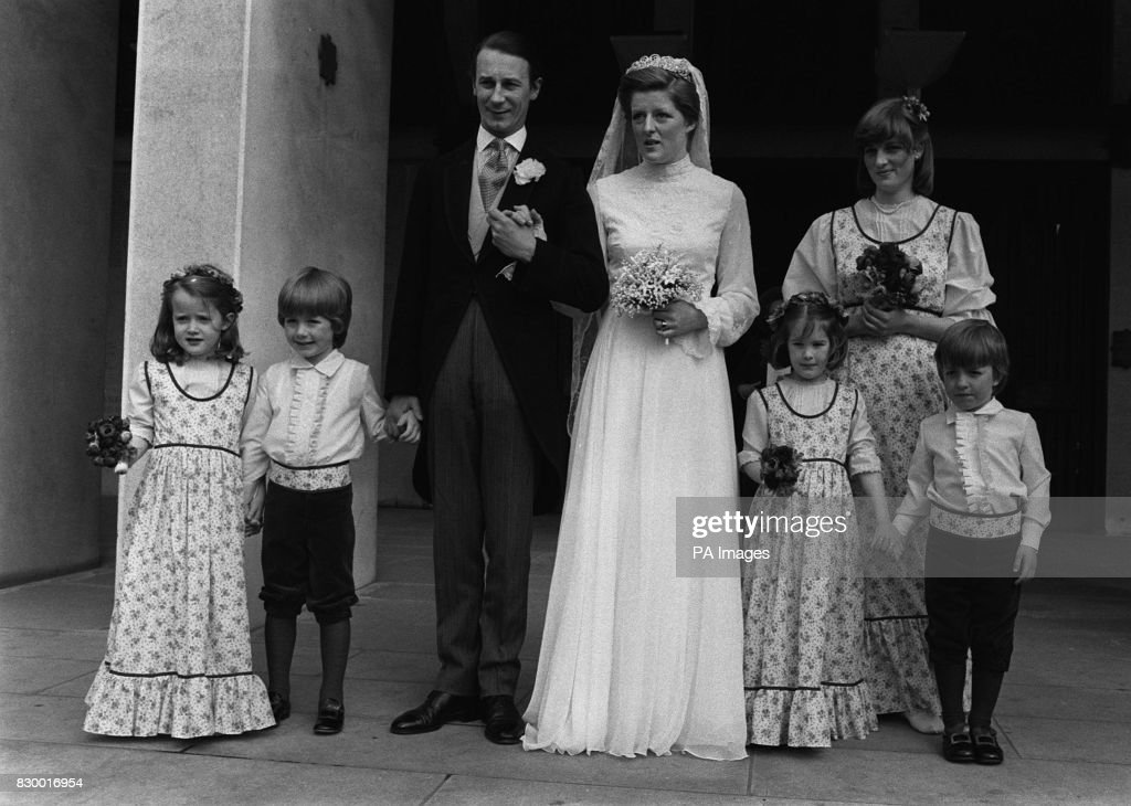FELLOWES WEDDING : 1978 : News Photo