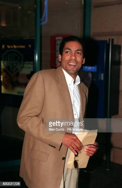 PLAYS 'RECALL' IN ITV'S 'LONDON'S BURNING' ARRIVING FOR THE CHARITY PREMIERE OF 'GIRLS NIGHT' IN LONDON'S LEICESTER SQUARE THE FILM WAS WRITTEN BY...