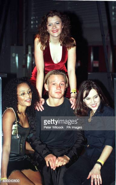 CHARACTER 'NICKY PLATT' ATTENDS THE FANTASIA NIGHT CLUB AT THE GMEX CENTRE IN MANCHESTER WITH JANE DANSON WHO PLAYS HIS ONSCREEN GIRLFRIEND 'LEANNE...