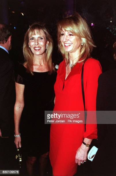 AND HER DAUGHTER IN LAW FIONA SANGSTER AT THE CELEBRITY LAUNCH PARTY FOR THE OPENING OF THE FIRST LONDON STORE BY LEADING GENEVA JEWELLERS DE...