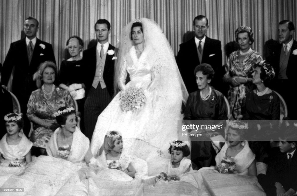 Royalty - Lady Pamela Mountbatten Wedding - Romsey Abbey, Hampshire : News Photo