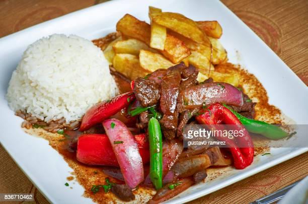 exotic food breakfast - comida peruana fotografías e imágenes de stock