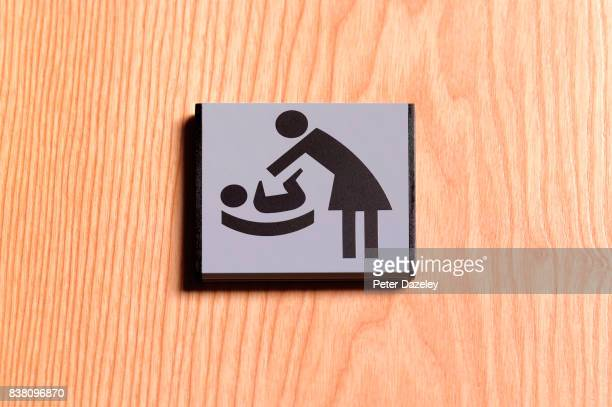 MOTHER BABY CHANGING SIGN
