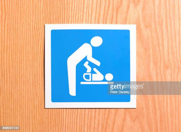 FATHERHOOD BABY CHANGING SIGN