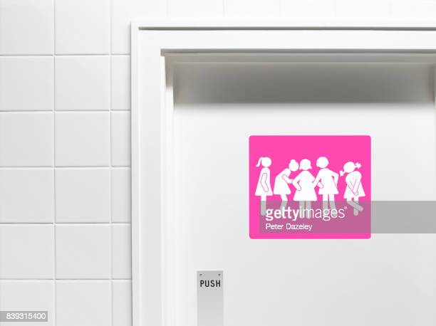 GOSSIPING TOILET DOOR SIGN