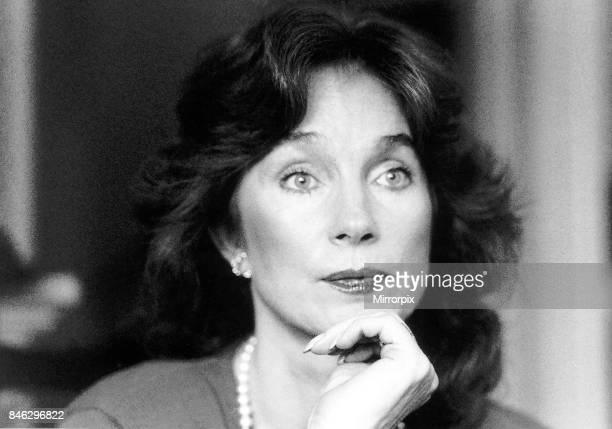 Shirley Anne Field Actress November 1988