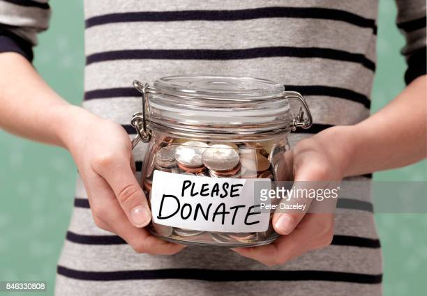 PLEASE DONATE CHARITY JAR