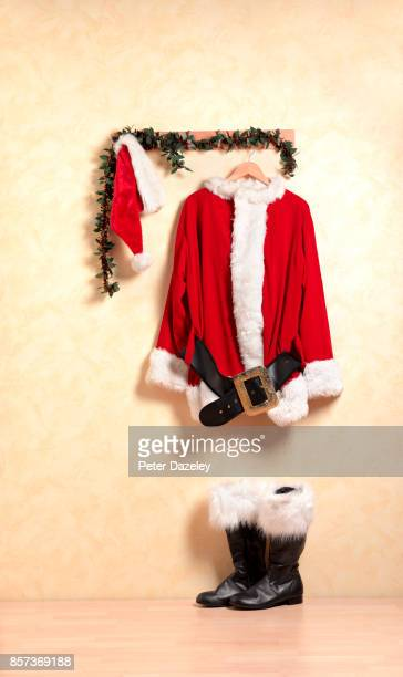 FATHER CHRISTMAS OUTFIT WAITING