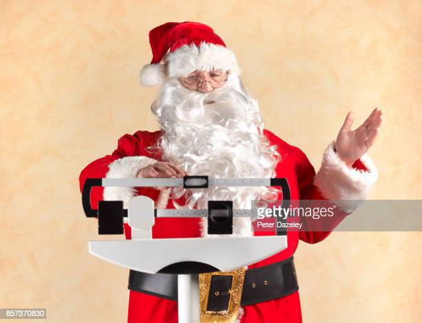 OVERWEIGHT FATHER CHRISTMAS