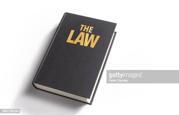 the law book cover - law stock pictures, royalty-free photos & images