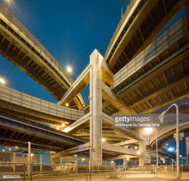 阪神高速道路 北港ジャンクション