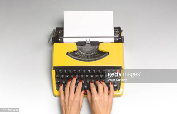 hands typing - answering stock pictures, royalty-free photos & images
