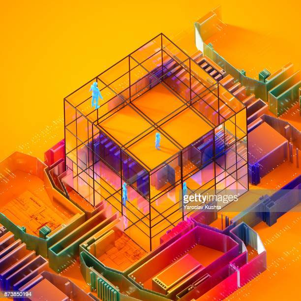 electro quintessence - glass magazine stock photos and pictures