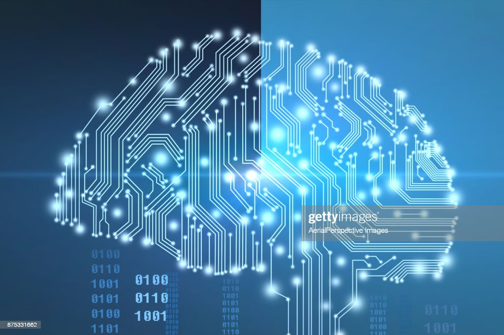 AI (Artificial Intelligence) : Stock Photo