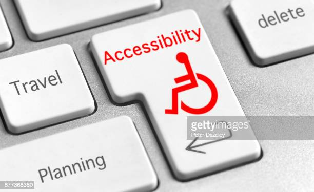 wheelchair accessibility - accessibility stock pictures, royalty-free photos & images