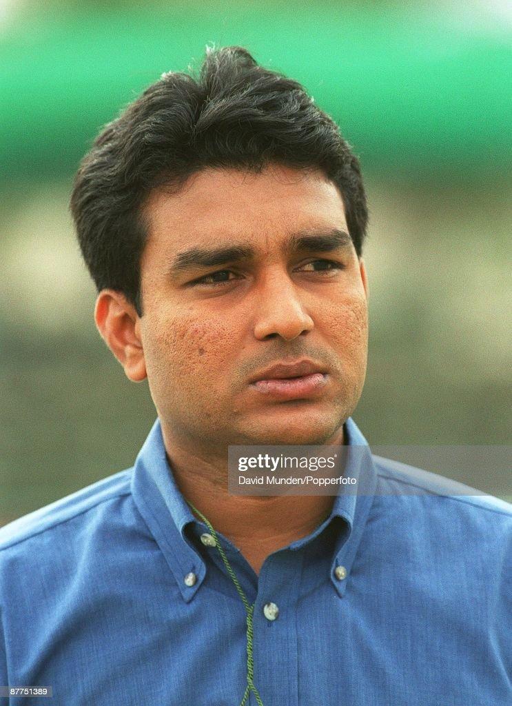 SANJAY MANJREKAR / EX INDIAN TEST CRICKETER TURNED BROADCASTER... : News Photo