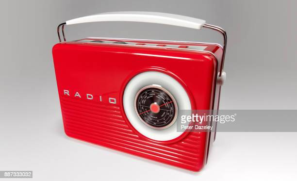 OLD FASHIONED PORTABLE RADIO