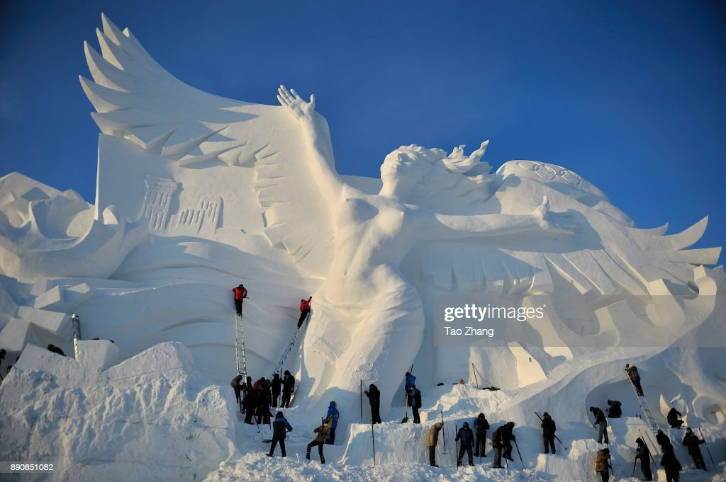 Spectacular Snow Sculptures