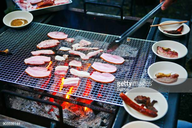 bbq - paper plate stock photos and pictures