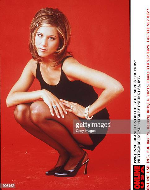 1996 JENNIFER ANISTON OF THE TV HIT SERIES FRIENDS