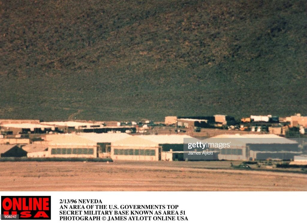 2/13/96 RACHEL, NEVEDA PART OF THE U.S. GOVERNAMENTS TOP SECRET MILITARY BASE KNOWN AS AREA 51
