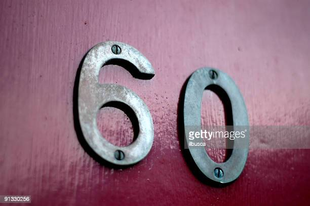 60 - number 60 stock photos and pictures