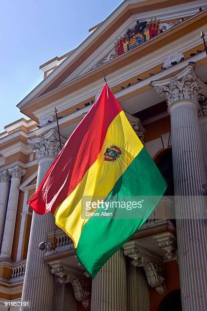 0 - bandera boliviana fotografías e imágenes de stock