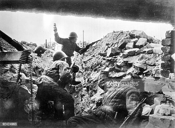 World War II Battle of Stalingrad Russian soldiers September 1942 February 1943