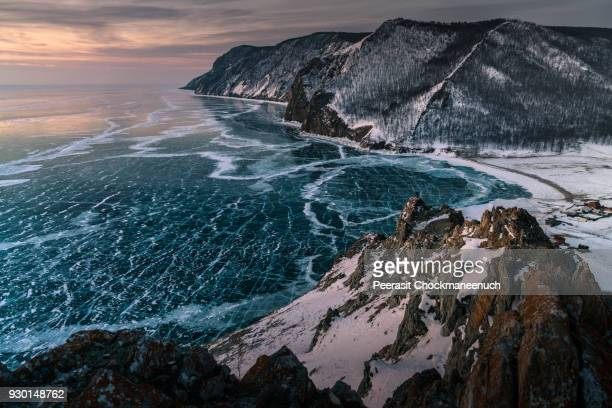 lake baikal , russia - russia stock pictures, royalty-free photos & images