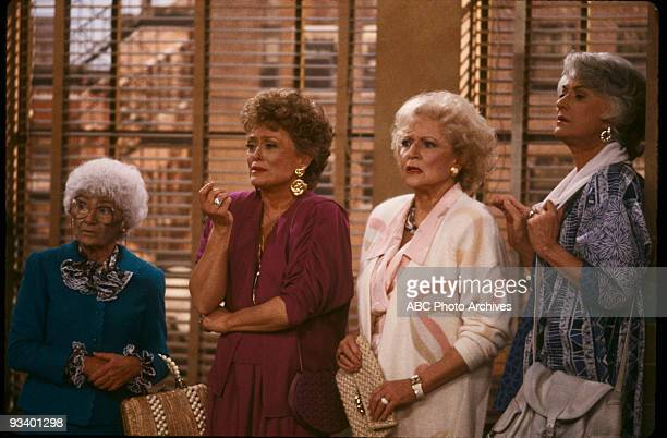 THE GOLDEN GIRLS - 9/24/85 - 9/24/92, ESTELLE GETTY, RUE MCCLANAHAN, BETTY WHITE, BEA ARTHUR,